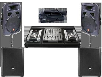 pachet sonorizare DJ botez