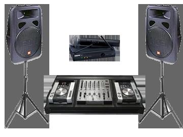 pachet sonorizare, DJ evenimente